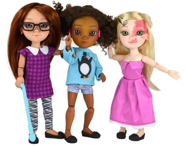 куклы с физическими недостатками