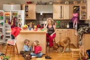 Дом жена дети