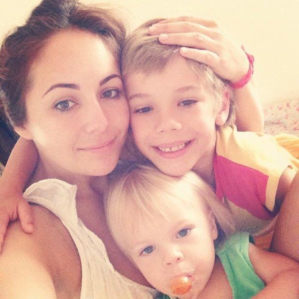 Даша Малахова и дети