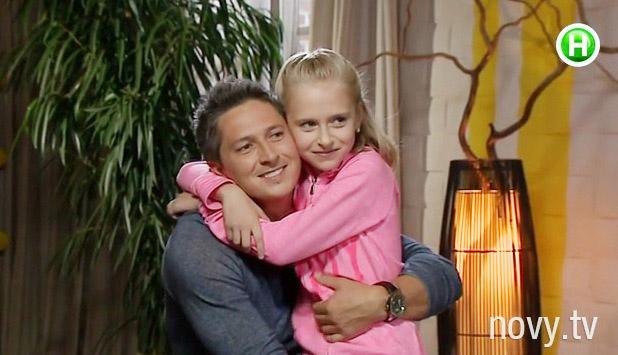 Александр Педан и дочь