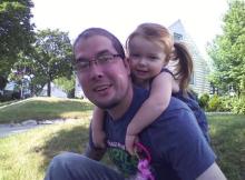 отец и дочка