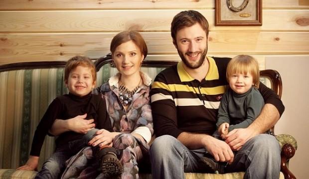 Юлия Бурковская семья