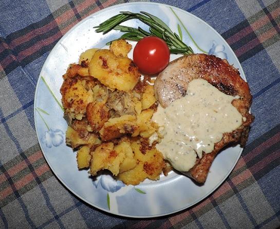 рецепт свинины в горчичном соусе
