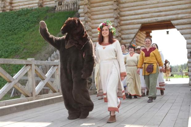 выходные в парке киевская русь