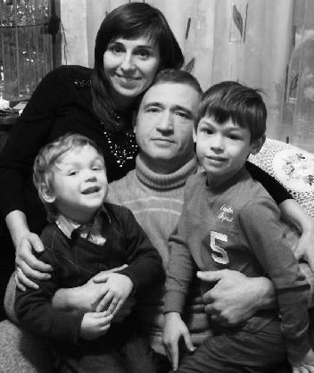 Ирина Шинкарук семья