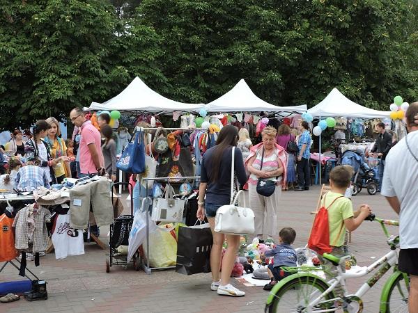 Baby базар в Парке Победы