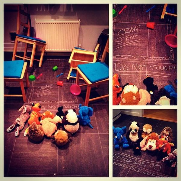 игрушки оживают