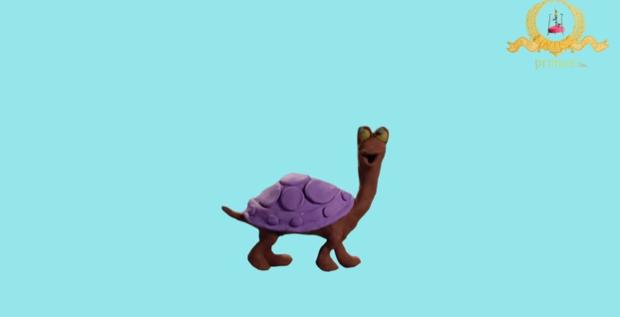 Черепаха. Пластилиновые мультики