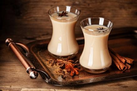 теплый напиток - масала