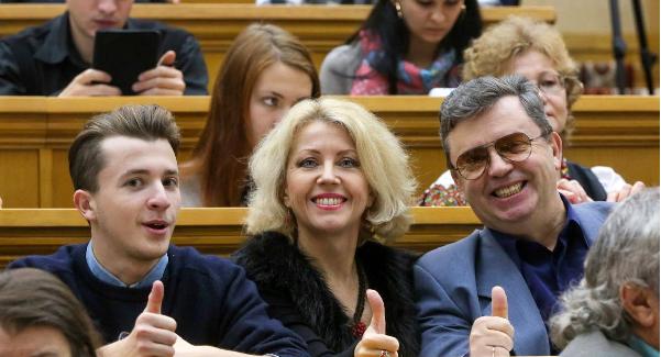 Жанна Боднарук сім'я