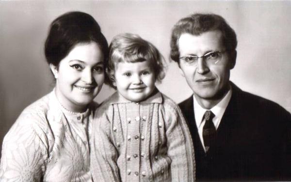 Жанна Боднарук дитинство