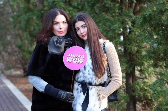 Влада Литовченко с дочкой