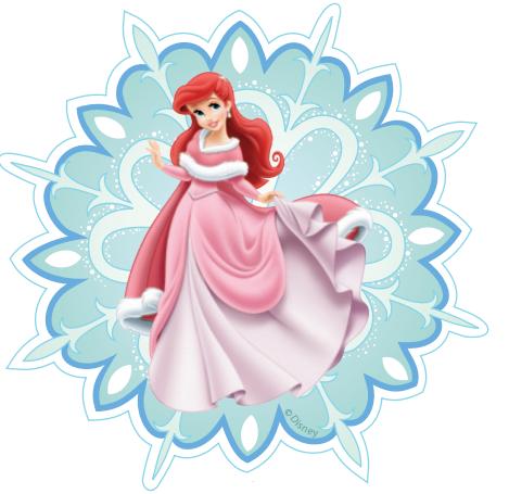 снежинки своими руками шаблоны принцессы диснея