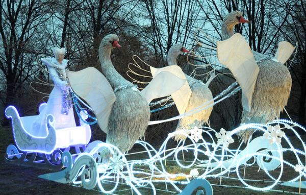 Зимняя сказка в Киеве