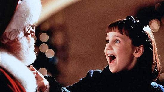 Семейные рождественские фильмы. Чудо на 34-й улице