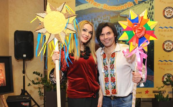 В Яремче прошел этно-фестиваль Ольга Сумская