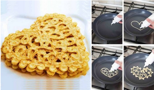 Рецепт кружевных блинчиков с фото