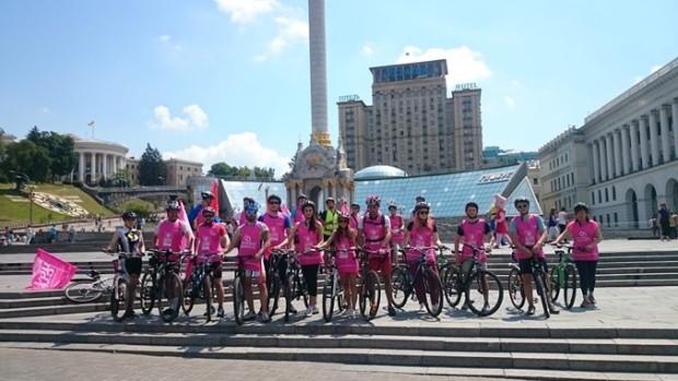 благодійний велопробіг End Polio Now