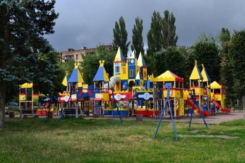 оригинальные детские площадки в киеве
