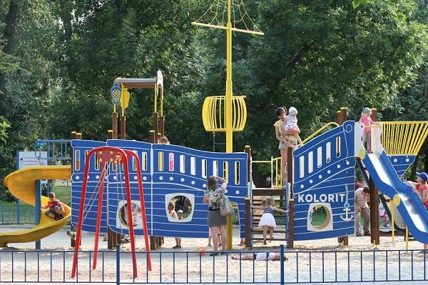 детские площадки в киеве