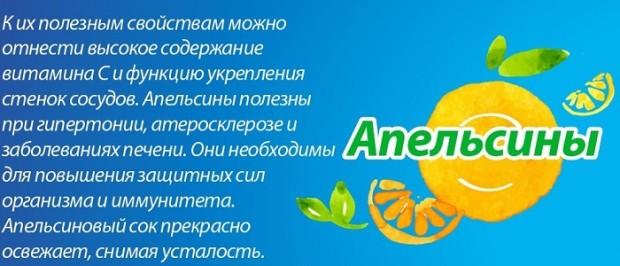 в чем польза апельсина