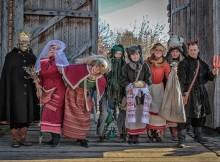 Хэллоуин в Парке Киевская Русь