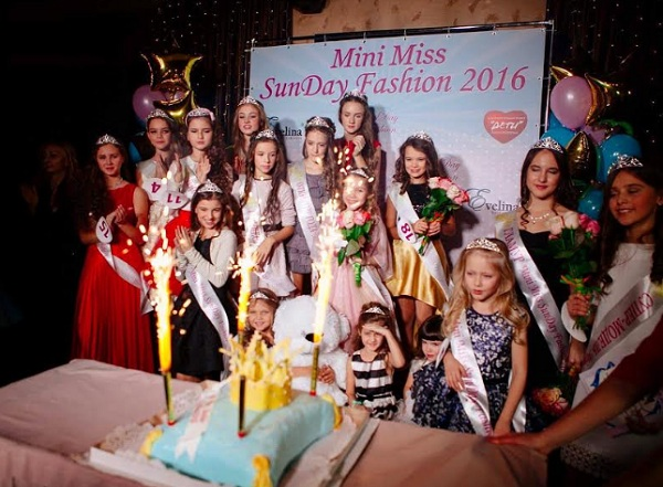Mini Miss SunDay Fashion 2016