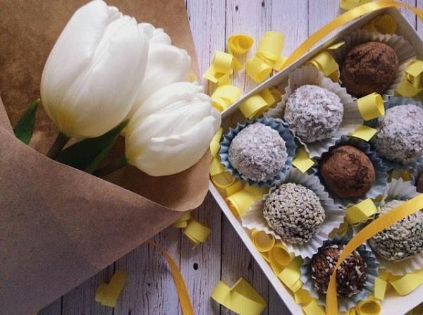 натуральные конфеты