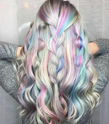 краска для волос история