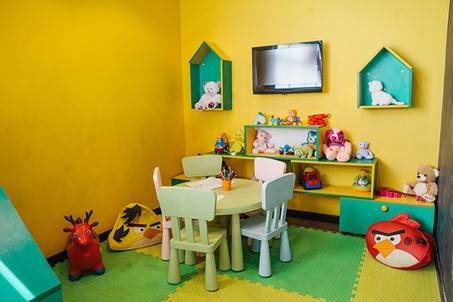 рестораны с детскими комнатами