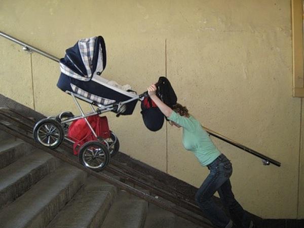 права мамы с коляской