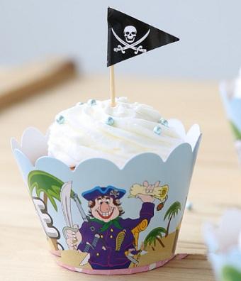 день рождения в пиратском стиле