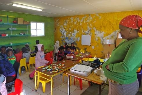 детский сад в Африке