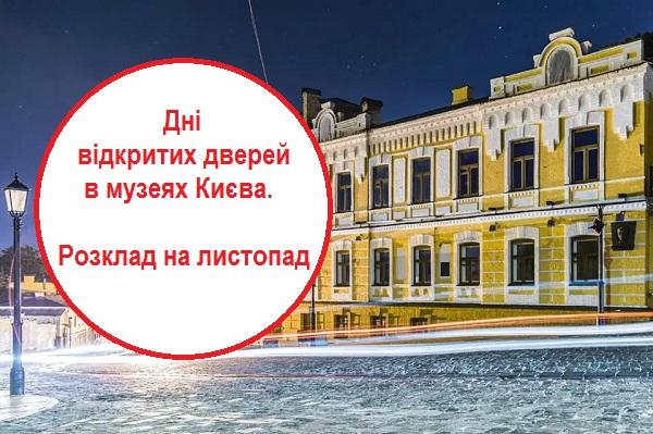 музеї Києва