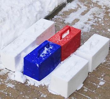пасочки для снега