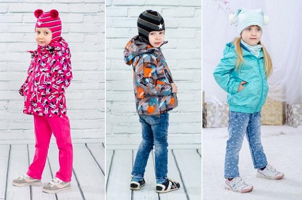 весенние куртки для детей