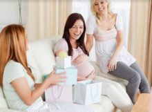 что подарить беременной на новый год