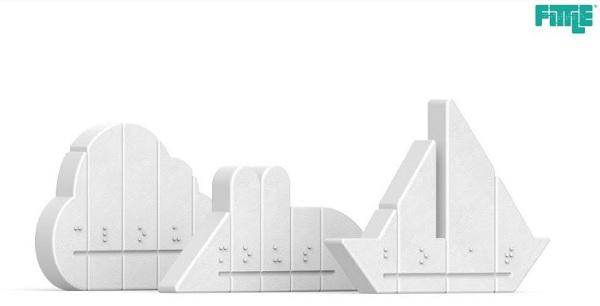 3D-головоломки обучат шрифту Брайля