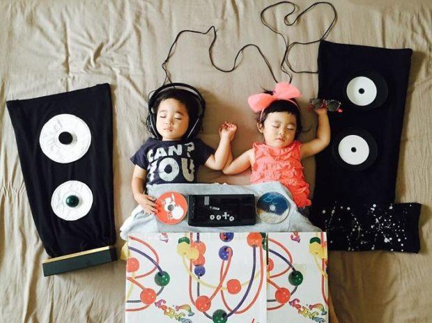 креативные фото детей