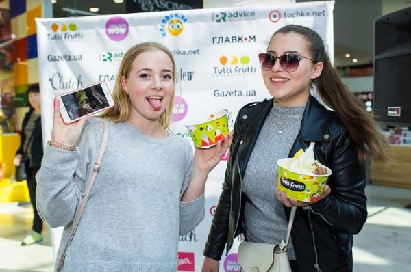 Мороженое Tutti Frutti в Украине