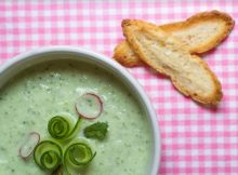 суп из огурца