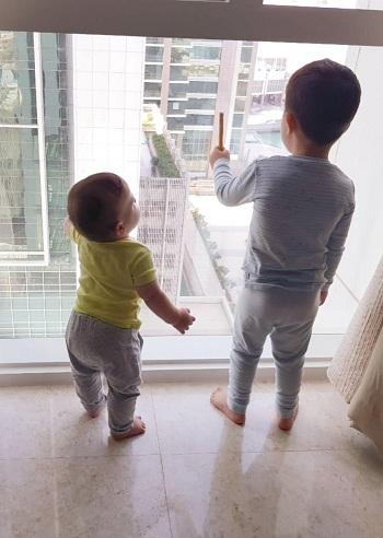 в ОАЭ с детьми