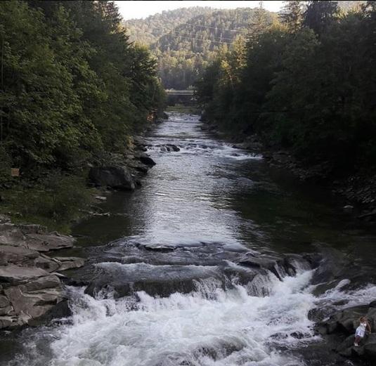водопад Яремче