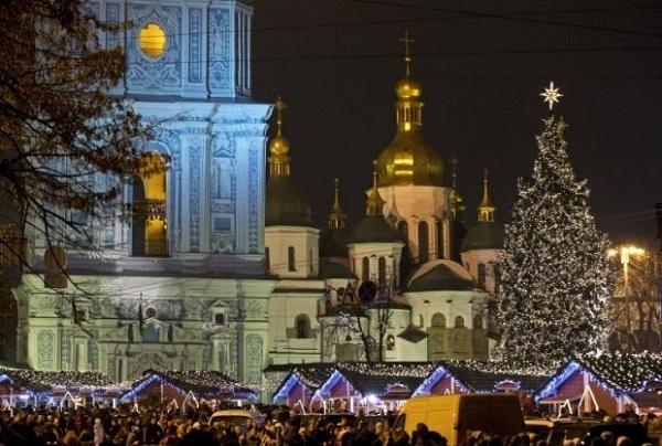 киев елка 2019