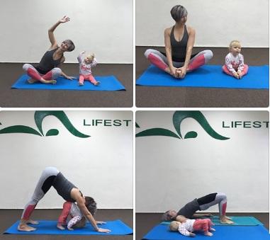 йога-инструктор для мам