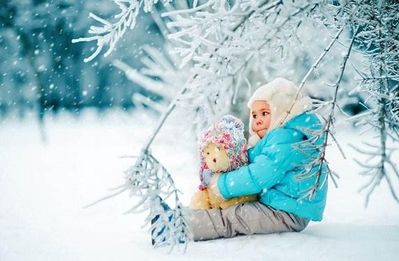 прогулки с детьми зимой