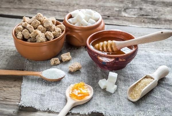 в каких продуктах сахар