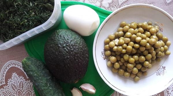 рецепт с авокадо