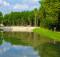 Изумрудное озеро в Парке Киевская Русь