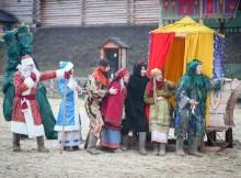 Новогодние праздники в Парке Киевская Русь